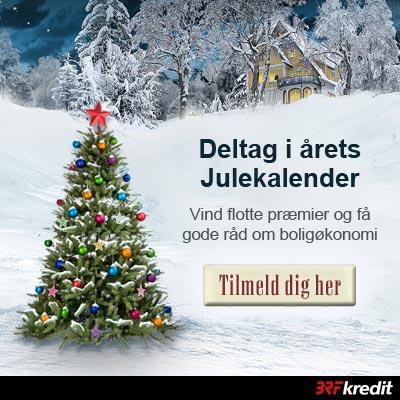 Vind præmier for samlet 150.000 kr. i BRFkredits julekalender