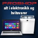 proshop elektronikk hvitevarer