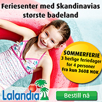Badeferie og bobilferie i Billund - Lalandia og Legoland