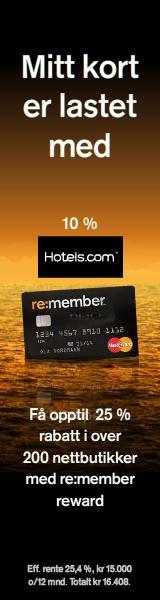 re:member Bonus & Tilbud Kredittkort