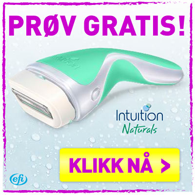 Gratis Intuition plus hårfjerningssystem fra Wilkinson