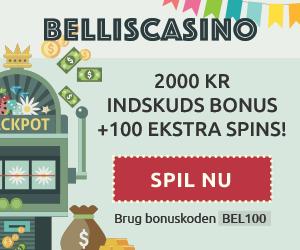 Besøg Bellis Casino og få 100 gratis spins