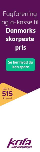 Krifa A-kasse - Danmarks billigste fagforening