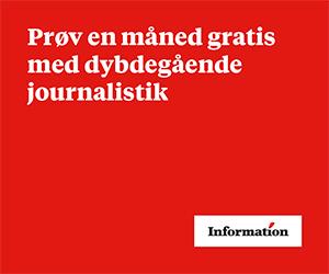 Dagbladet Information GRATIS i 1 måned