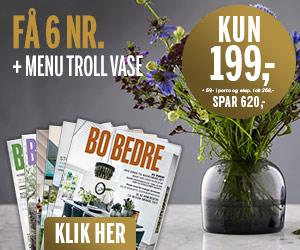 Bo Bedre 6 nr + Menu Troll vase