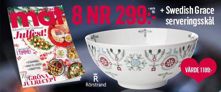 Allt om Mat + premie från Rörstrand