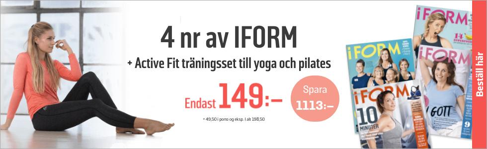 Prenumeration I FORM + Active Fit Yoga set