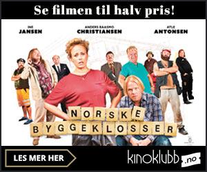 Bli medlem i Kinoklubben -50% på 8 filmer i året