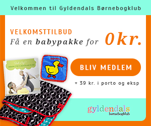 Babypakke for 0 kr fra Gyldendals Børnebogklub
