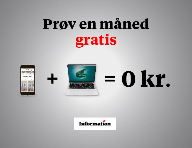 Få Dagbladet Information GRATIS i 1 måned