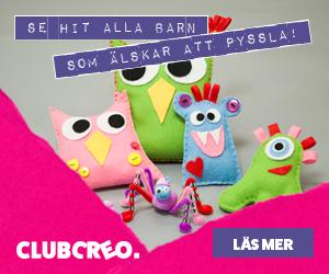 Club Creo provpaket 59 kr - pysselklubb för barn