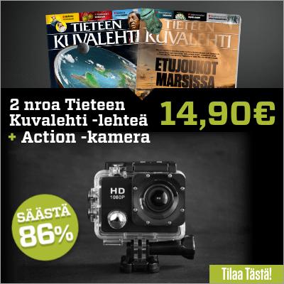 PROX11 Full HD Action -kamera tilaajalahjaksi Tieteen Kuvalehden tilaajalle