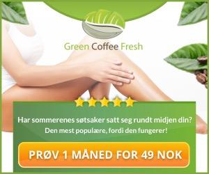 Prøv Grønn Kaffe og få Activity tracker