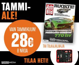Tilaa Auto Bild 8 nroa vain 28 € (norm 50 €)
