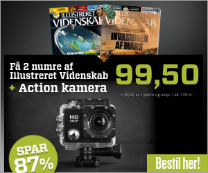 Illustreret Videnskab inkl. HD Action kamera