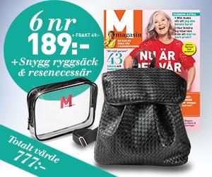 resenecessär gratis med m magasin