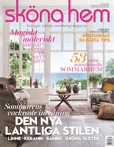Sköna Hem - 6 nr + 2 Swedish grace-skålar + 2 linnehanddukar för endast 199 kr