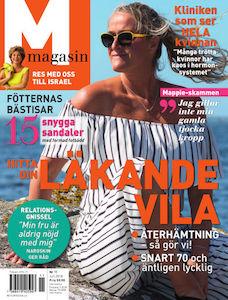M-magasin - 6 nr + mönstrad sjal & kuvertväska för endast 189 kr