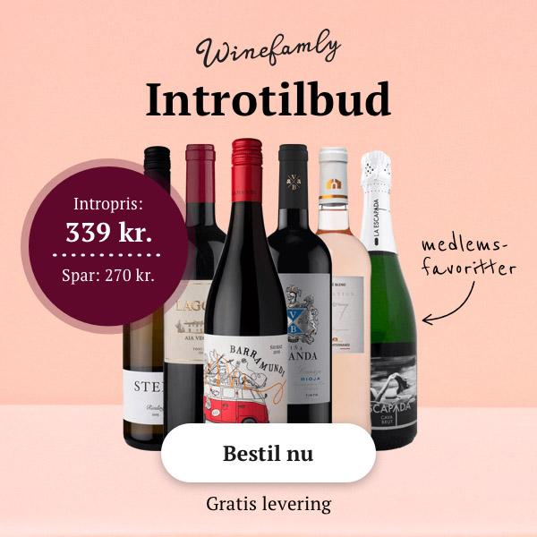 Prøv Winefamly spar 30-70% på vin og spiritus