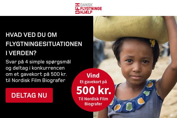Bliv klogere på flygtninge og vind gavekort til Nordisk Film Biografer