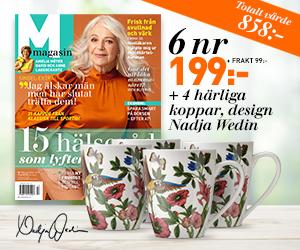M-magasin 6 nr + 4 muggar från Nadja Wedin