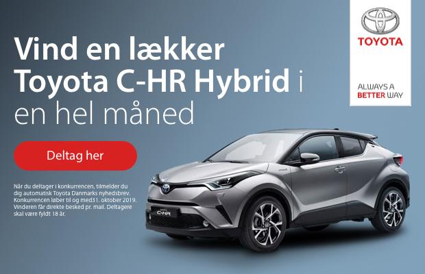 Vind en Toyota Hybrid i en måned
