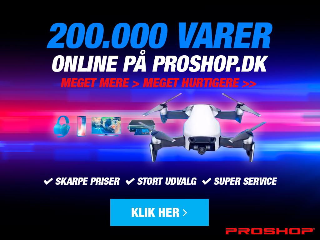 Proshop leverer billige elektronikprodukter lige til døren