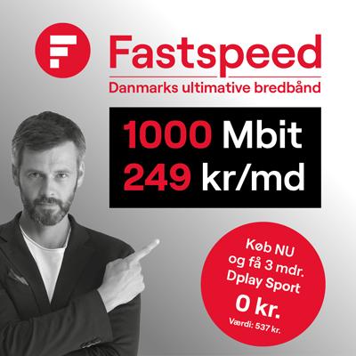 Få meget for pengene hos Fastspeed