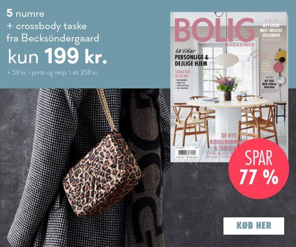 Få en smuk Becksöndergaard crossbody taske i sort eller leopard med Bolig Magasinet
