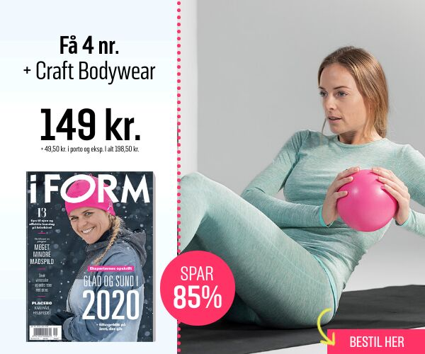 Kom i form med I FORM og få Craft bodywear