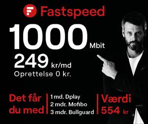 Fastspeed - lave priser, hurtige hastigheder