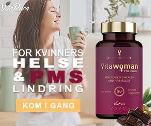 Vita Woman - For kvinners helse og PMS-lindring. Motvirker PMS-plager