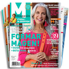 M-magasin - 6 nr + Hudvårdsprodukter från NovAge
