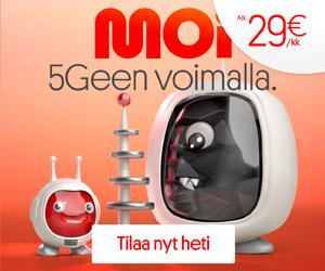 Tilaa Moi Mobiilin liittymä rajattomalla datapaketilla 18€/kk