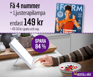 I FORM + Ljusterapilampa