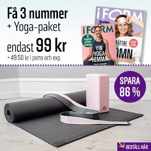 I FORM + Yoga-paket
