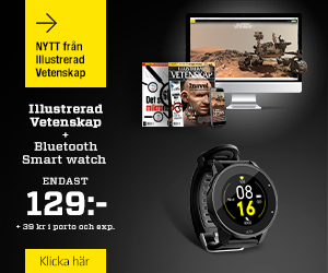 Illustrerad Vetenskap + Bluetooth Smart watch