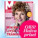 M-magasin - 5 nr till ett värde av 345 kr.