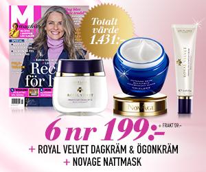 M-magasin - 6 nr + Dagkräm, ögonkräm och nattmask från Oriflame!