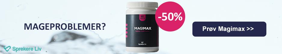 Magiro - produktet for mageproblemer.
