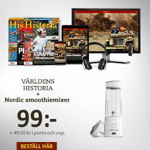 Världens Historia + Nordic smoothiemixer