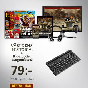 Världens Historia + Bluetooth-tangentbord