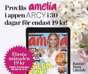 Provläs amelia i appen ARCY i 30 dagar för endast 19 kr!