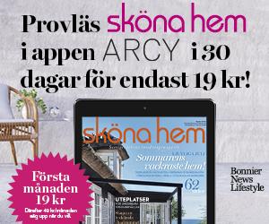 Provläs Sköna hem i appen ARCY i 30 dagar för endast 19 kr!