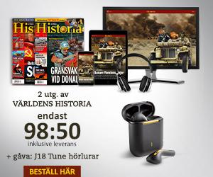 Världens Historia + Wireless in-ear hörlurar