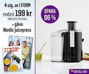 I FORM + Nordic juicepress