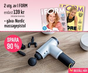 I FORM + Nordic massagepistol